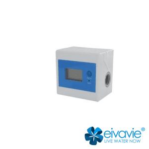Contalitri contatempo digitale con attacco 3/8'' per trattamento acqua