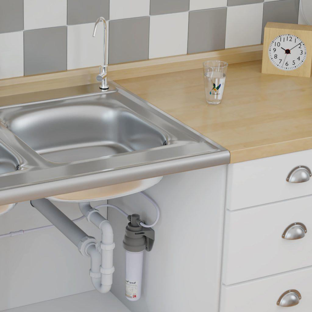 kit sotto lavello con rubinettino