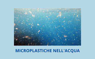 Le microplastiche nell'acqua del rubinetto