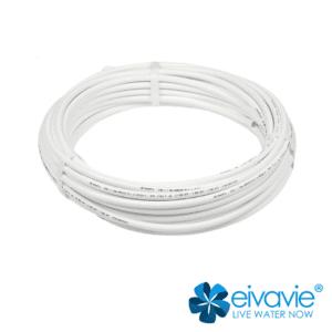tubo semi rigido 3/8'' con attacco rapido push fit per sistemi di trattamento acqua